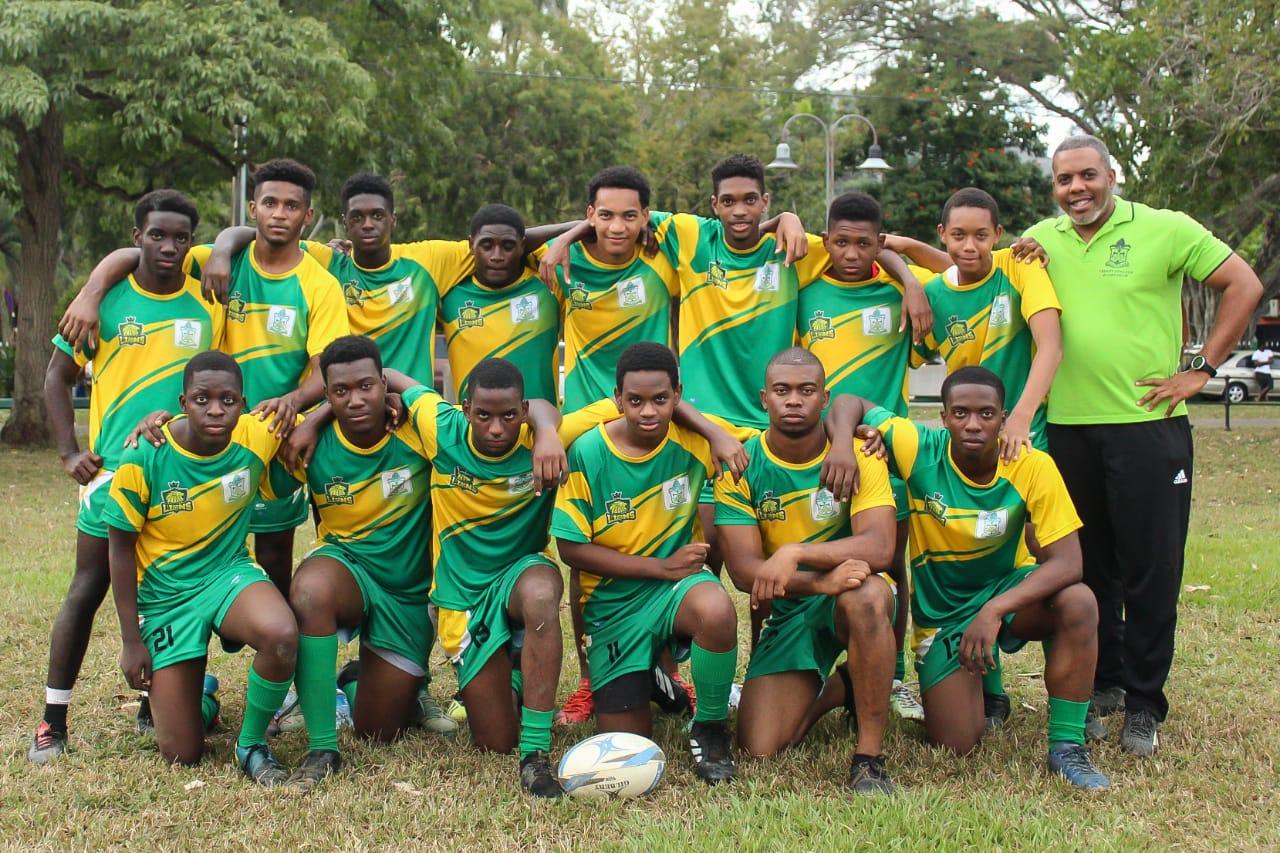 Trinity College Rugby U18 Team & Manager - Mr. O'Connor